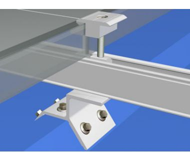 Trapezoidal Clamp with Rail
